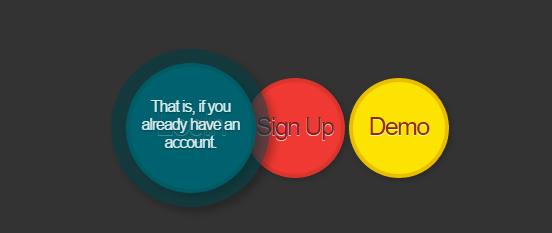 Анимированная кнопка на сайт